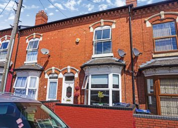 Thumbnail 3 bed terraced house for sale in Frederick Road, Birmingham