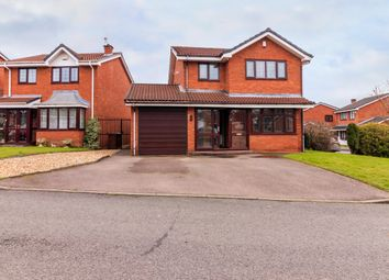 Thumbnail 4 bed detached house for sale in Mere View, Walsall