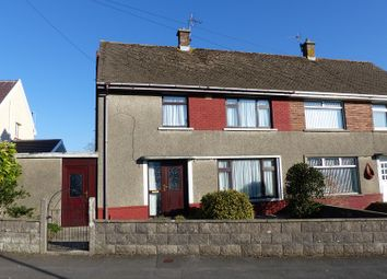 Thumbnail 3 bed semi-detached house for sale in Heol Onnen, North Cornelly, Bridgend.