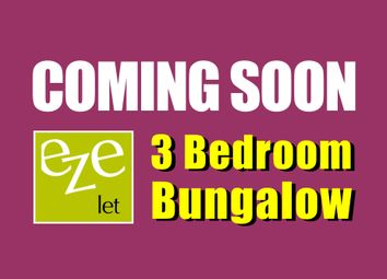 Thumbnail 3 bed terraced bungalow to rent in Clacton Road, Little Oakley, Harwich