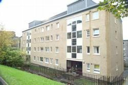 Thumbnail 1 bed flat to rent in Queen Margaret Court, Glasgow