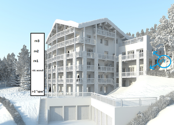 Thumbnail 2 bed apartment for sale in La-Rosiere, Savoie, France