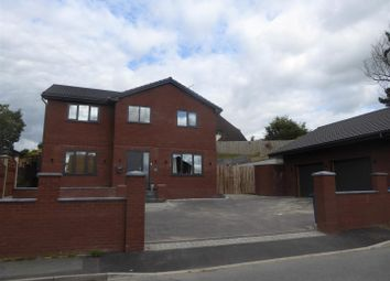 Thumbnail 4 bed detached house for sale in Daleside Avenue, Wrexham