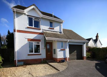 Thumbnail 3 bed detached house for sale in Cory Court, Wembury, Plymouth