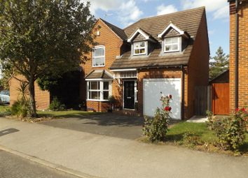 Thumbnail 4 bed detached house for sale in Quintonside, Grange Park, Northampton