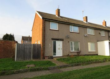 Thumbnail 3 bed end terrace house for sale in Brinsley Green, Corby