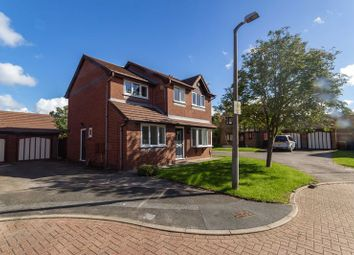 Thumbnail 4 bed detached house for sale in Richmond Court, Leyland