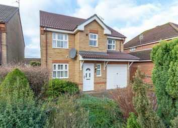 Thumbnail 4 bed detached house for sale in Heron Close, Fakenham