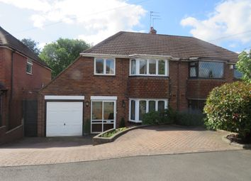 Thumbnail 3 bed semi-detached house for sale in Haswell Road, Hayley Green, Halesowen