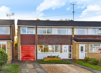 Thumbnail 4 bed end terrace house for sale in Lyneham Road, Crowthorne, Berkshire