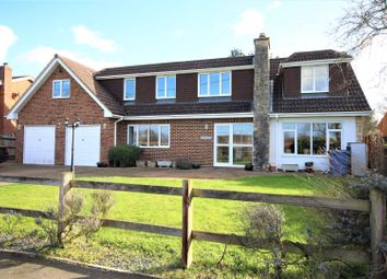 Thumbnail 5 bed detached house for sale in School Road, Waltham St. Lawrence, Reading