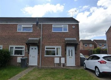 Thumbnail 2 bed end terrace house to rent in Ettrick Drive, Sinfin, Derby