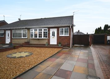 Thumbnail 2 bed semi-detached bungalow for sale in Sunningdale Grove, Newcastle-Under-Lyme