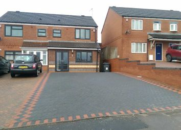 Thumbnail 4 bed semi-detached house for sale in Hutton Road, Washwood Heath, Birmingham