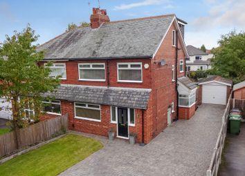 Thumbnail 4 bed semi-detached house for sale in Mavis Lane, Cookridge, Leeds