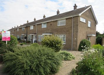 Thumbnail 2 bed end terrace house for sale in Edwin Close, Wymondham