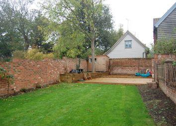 Thumbnail 3 bed end terrace house for sale in The Knoll, Alderton, Woodbridge