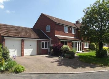 Thumbnail 4 bedroom detached house for sale in Sunningdale, Tamworth, Staffordshire, England
