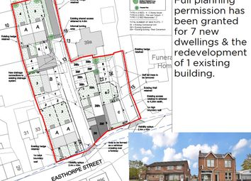 Thumbnail Land for sale in Residential Redevelopment Site, 35-39 Easthorpe Street, Ruddington