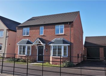 Thumbnail 4 bed detached house for sale in Lumley Close, Derby