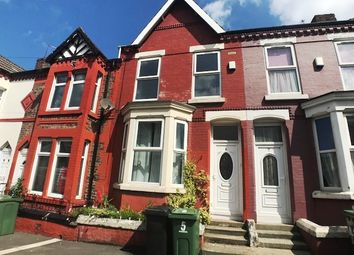 Thumbnail 2 bed terraced house to rent in Willmer Road, Birkenhead, Wirral