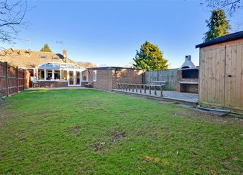 Thumbnail 3 bed semi-detached bungalow for sale in Charlesford Avenue, Kingswood, Kent