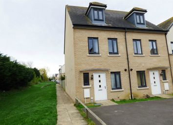 Thumbnail 3 bed end terrace house for sale in Dunnock Way, St. Ives, Huntingdon