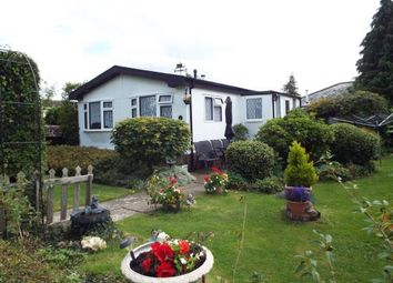 Thumbnail 2 bedroom mobile/park home for sale in Dando Road, Denmead, Waterlooville