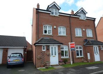 Thumbnail 4 bed town house for sale in Haselwell Drive, Kings Norton, Birmingham