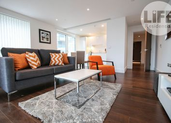 Thumbnail 2 bed flat to rent in Talisman Tower, 6 Lincoln Plaza, London
