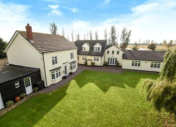 Thumbnail 5 bed detached house for sale in Old Main Road, Old Leake, Boston