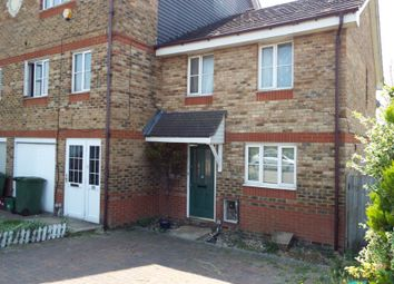Thumbnail 3 bed end terrace house for sale in Redbourne Drive, Thamesmead, London