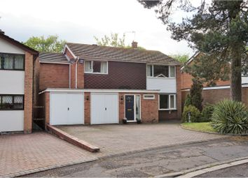 Thumbnail 5 bedroom detached house for sale in Rectory Close, Coventry