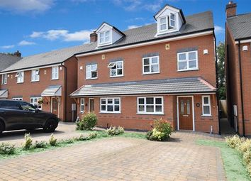 Thumbnail 4 bed semi-detached house for sale in Linforth Way, Coleshill, Birmingham, West Midlands