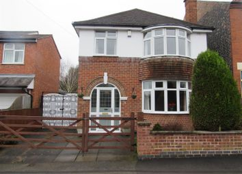 Thumbnail 3 bedroom detached house for sale in West Street, Blaby, Leicester