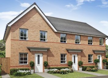 "Thumbnail 2 bed terraced house for sale in ""Richmond"" at Broughton Crossing, Broughton, Aylesbury"