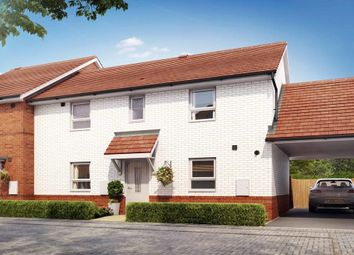"Thumbnail 3 bed semi-detached house for sale in ""Buchanan"" at Tingewick Road, Buckingham"
