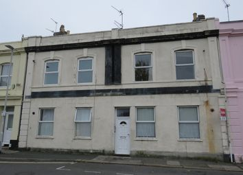 Thumbnail 1 bed flat for sale in Patna Place, North Road West, Plymouth