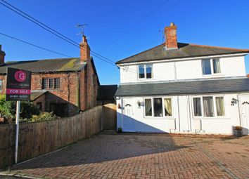 Thumbnail 2 bedroom semi-detached house for sale in Honey Lane, Cholsey, Wallingford