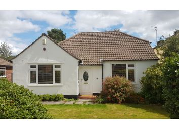 Thumbnail 3 bed detached bungalow for sale in Richmond Avenue, Wilmslow