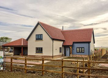 Thumbnail 4 bedroom detached house for sale in Park Close, Coveney, Ely