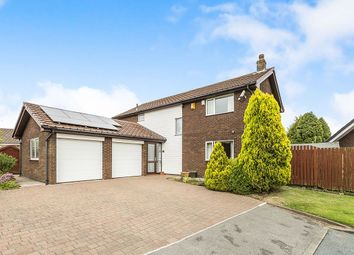 Thumbnail 4 bed detached house for sale in The Avenue, Ingol, Preston