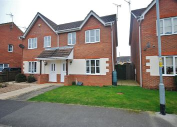 Thumbnail 3 bed semi-detached house for sale in Wintergold Avenue, Spalding