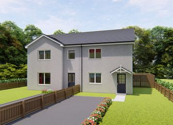 Thumbnail 2 bed semi-detached house for sale in Portstown Road, Inverurie