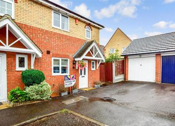 Thumbnail 3 bed semi-detached house for sale in Pound Lane Central, Laindon, Basildon, Essex