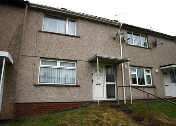 Thumbnail 2 bed terraced house for sale in Chase View, Gurnos, Merthyr Tydfil