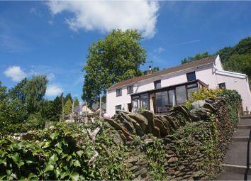 Thumbnail 4 bed detached house for sale in Pantygraigwen Road, Graigwen, Pontypridd
