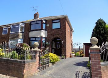 Thumbnail 3 bed semi-detached house for sale in Crosslands Road, Worsley, Manchester