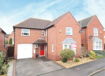 Thumbnail 4 bed detached house for sale in Foxglove Grove, Mansfield Woodhouse, Nottinghamshire