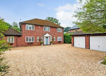 Thumbnail 4 bedroom detached house for sale in Blenheim Close, Hale, Altrincham